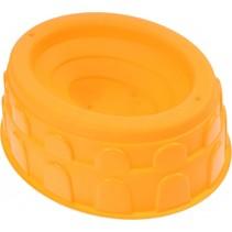 zandvorm Colosseum oranje 18 x 15 x 6 cm