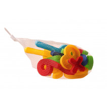 Beach Toys strandset met cijfers 17-delig
