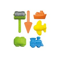strandspeelgoed 6-delig multicolor 16 cm