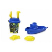 strandset Batman junior blauw/geel 7-delig