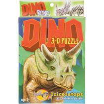 3D-puzzel triceratops 11 x 15 cm karton