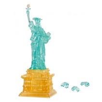 3D-puzzel Vrijheidsbeeld goud/blauw 78 stukjes