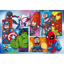 legpuzzel Marver Super Hero Avengers 24 stk.