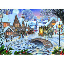 legpuzzel Winter Village 1000 stukjes