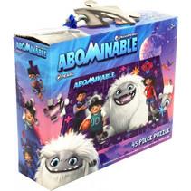 legpuzzel Abominable junior 39 cm karton 45 stukjes