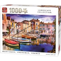 legpuzzel Martigues 68 x 49 cm karton 1000 stukjes