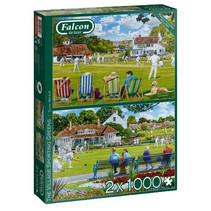 legpuzzel Village Greens 2-in-1 1000 stukjes