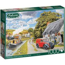 legpuzzel Parcel for Canal Cottage 1000 stukjes