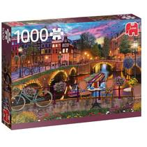 legpuzzel Amsterdamse Grachten 1000 stukjes