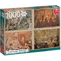 legpuzzel Anton Pieck: Living Room Entertainment 1000 stukjes