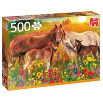 legpuzzel Paarden in de Wei 500 stukjes
