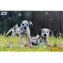legpuzzel Dalmatiërs junior 25 stukjes