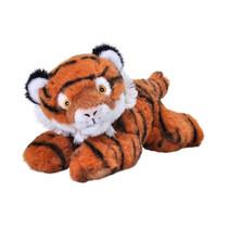 knuffel tijger Ecokins Mini junior 20 cm pluche oranje