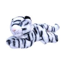 knuffel witte tijger Ecokins Mini junior 20 cm pluche wit