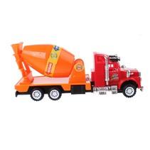betonwagen oranje/rood