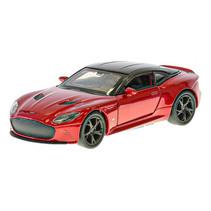 auto Aston Martin jongens 12 cm die-cast pull-back rood