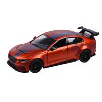 auto Jaguar XE SV 12 cm oranje