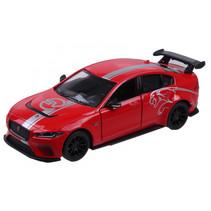 auto Jaguar XE SV 12 cm rood