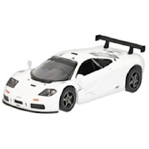 auto McLaren F1 GTR jongens die-cast alu 1:36 wit