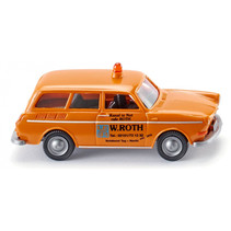 miniatuurauto VW 1600 Variant die-cast zink 1:87 oranje
