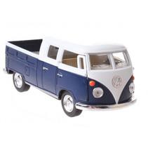 schaalmodel Volkswagen 1:34 die-cast 10 cm blauw