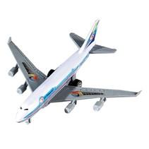 vliegtuig pullback 14 cm lichtblauw