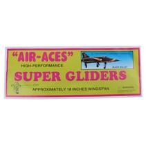 vliegtuig foam air-aces super blackbullet 45 cm zwart