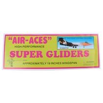vliegtuig foam air-aces super starwitch 45 cm zwart