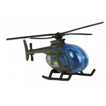 militaire helikopter diecast 7 cm legergroen