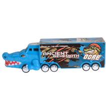 vrachtwagen krokodil jongens 16 cm blauw