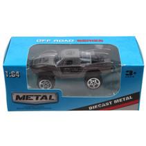 jeep Off Road jongens 13 cm die-cast grijs