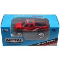jeep Off Road jongens 13 cm die-cast rood