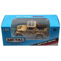 jeep Off Road jongens 13 cm die-cast beige