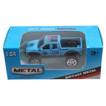 jeep Off Road jongens 13 cm die-cast blauw/zwart