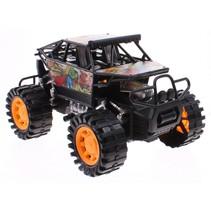 jeep Rock Crawler 23 cm zwart/multicolor