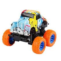 monstertruck jongens 9 cm staal oranje