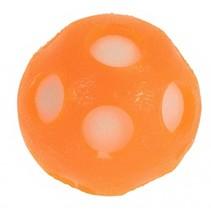 splashbal met spons 6,5 cm oranje