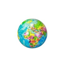 wereldbal soft blauw 7 cm