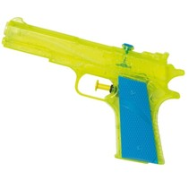waterpistool junior 18 cm geel