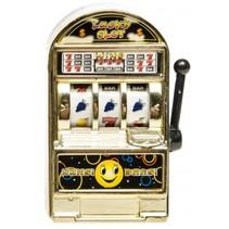 Casino gokautomaat 8 cm goud