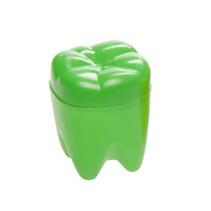 tandendoosje 4 x 2,5 x 2,5 cm groen