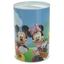 spaarpot Mickey Mouse & Donald Duck 15 cm blik
