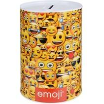 spaarpot Emoji 160 ml geel