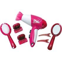 kapperset met föhn en accessoires 7-delig roze