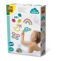 Zuignap dot art 48 stuks multicolor