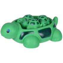 badspeelgoed schildpad groen 4-delig