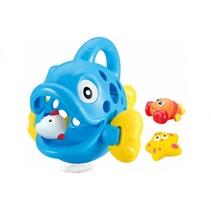 badspeelgoed Hungry Fish blauw junior 23 x 23 x 20 cm