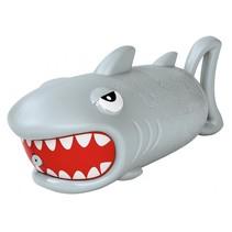 waterpistool haai grijs 19 cm
