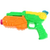 waterpistool 20 cm groen/oranje/geel