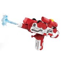 2-in-1 waterpistool/brandweer jongens 35 cm rood/wit